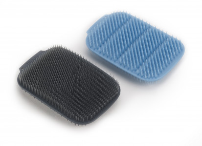 CleanTech Washing-up Scrubber (2-pack) - Blue / Grey