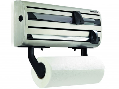Wall Mounted Kitchen Roll Holder - Stanless Steel