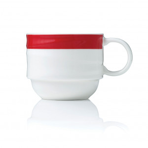 Maxadura Resonate Coffee Cup Stackable 265ml – Red Band
