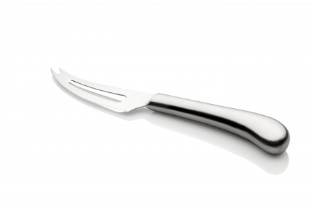 Pistol Grip Stainless Steel Slotted Soft Cheese Knife